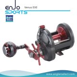 Venus Trolling Reel Strong Graphite Body / 3+1 Bb / Right Handle Fishing Reel for Saltwater and Freshwater (Venus 030)