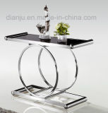 Stainless Steel Furniture Modern Simple Design Square Table (X808)