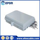 Outdoor 1*16 Fiber Optic PLC Splitter Box for Wall Mount Pole Mount Install