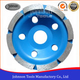 105mm Diamond Single Row Cup Wheel for Stone