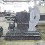 American Bahama Blue Granite Angel Monument