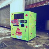 Popular Paper Cup Ice Cream Vending Machines with Ce Ice Cream Machine