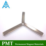 Bar Magnet with Neodymium Praseodymium Iron and Boron N38