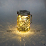 Beautiful Color Changing Firefly Solar Jar Lights for Weeding