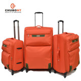 Xelibri Supper Light 4 Spinner Wheels Polyester Fabric Upright Suitcase