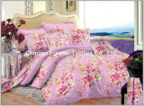 Full Size Printed Microfiber/Polyester Quilt Cover Faric for Bedding Set