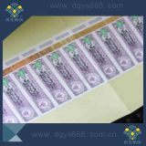 Security Hot Stamping Packaging Paper Label