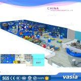 Wenzhou Children Plastic Games Sea Theme Pirate Ship Indoor Playground Equipemnt Price