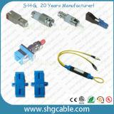 RoHS Compliant Sc LC St FC Fiber Optic Attenuator (SC)