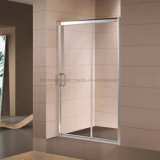 6mm Tempered Glass Al Frame Shower Sliding Door