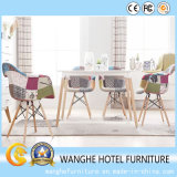 Modern Restaurant Dining Room Furniture Wooden Foot Dining Chair