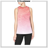 Fashionable Comfortable Sublimation Fitness Crop Tank Top