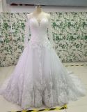New Bead/Pearl/Rhinestone Wedding Dresses with Appliques