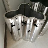 New Decoration Material Stainless Steel Flower Pot for Commercial Mall