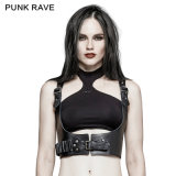S-205 Punk Rave Military Sniper Leather Strap Clothing Accessories