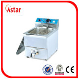 Commercial Electric Deep Fryer with Single Tank & Filter, 8L Fish Fryer & Chicken Fryer Good Price