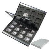 Aluminum Holder Case for 24 TF Micro SD Card Case