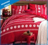3 Piece Holiday Snowflake Cotton Comforter Bedding Set