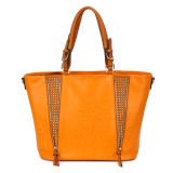 2015 Latest Deisgner PU Leather Wholesale Ladies Handbag (MBNO034121)