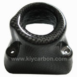 Carbon Fiber Key Cover for Ducati Hypermotard 1100