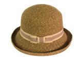 China lady paper braid bucket hat china hats lady bucket hat