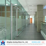 4-8mm Flat Toughened/Float Low Iron/Super/Ultra Clear Glass for Partition