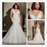 China Mermaid Lace Plus Size Wedding Dress for Fat Woman (XZ375 ...