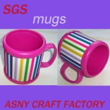Cartoon 3D Rainbow Gay Souvenir PVC Mugs