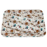 100% Melamine France Bear Series Kids′ Housewar/Melamine Tray