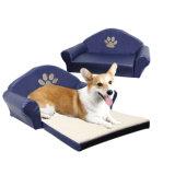 Paw Pattern Pet Sofa, Dog Beds Sale (YF72058)