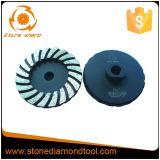 "4""105mm Turbo Coarse Diamond Grinding Tool Abrasive Cup Wheel"