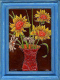 Ceramic Framed Decorative Painting 270x350mm (CF01)