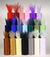 Sheer Organza Roll Colors Customized