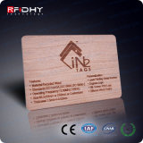 Bamboo SPVC Business ID Contactless RFID Smart Card