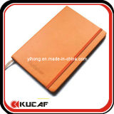A4 Leather Cover Notebook Custom Embossing Logo