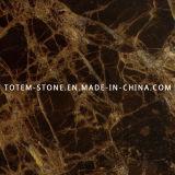 Dark Emperador Stone Marble for Tile, Slab, Countertop
