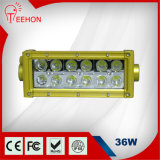 Factory Wholesale off-Road LED Light Bar,36W 7 Inches Double Row Offroad 4X4 Light for Motorsport Rally,LED Headlight for Jeep Wrangle,Yahama Snowmobile,ATV,UTV