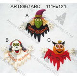 Happy Halloween Wall Decoration Gift Craft with Signst-3asst.