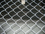 Glavanized / PVC Coated/ Stainless Steel Chain Link Fence for Using in Playground / Garden