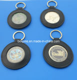 Coin Key Chain Leather Holder