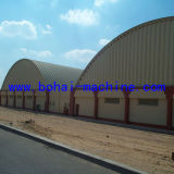 Bohai 1000-610 Steel Arch Sheet Project Machine on Wall