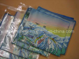 Microfiber Map Printing Cleaning Cloth (SF-001)