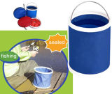 Collapsible Water Bucket with Pouch