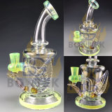 Bontek Newest Glass Pipe Leaf Glass Water Pipe