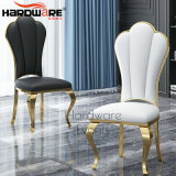 Simple Style Wedding Modern Stainless Steel Dining Chair