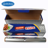 Disposable Household Aluminum Foil Roll with SGS