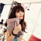 Hot Sale Fashionable Handbags Retro Luxury Full Sequined Holding Bag Late Yan Bag Hand Bag Cosmetic Clutch Bag