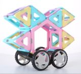 Magical Clear Color Magnetic Building Blocks for Children