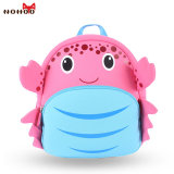 Waterproof School Bags for Girls Cartoon Crab Fashion Printing Backpack Kids Orthopedic School Bag Child School Backpack