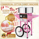Vevor Cotton Candy Maker with Cart with Ce